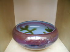 Genedese glass bowl