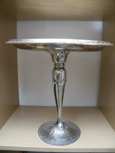 Christofle silver plated cake stand