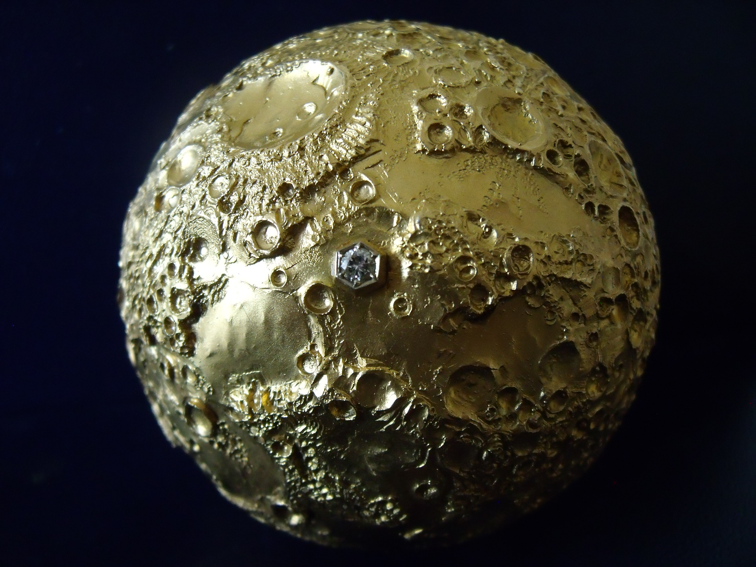 The Osman Apollo 11 Gold Moon Angry Agent