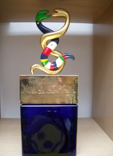 Niki de Saint Phalle, large display perfume bottle