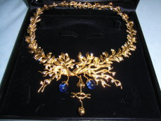 Salvador Dali surrealist necklace