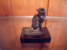 Fremiet bronze cat