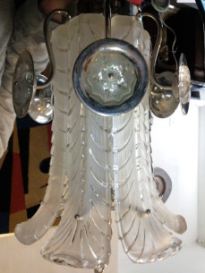 Ceiling  light, attributed to Sabino