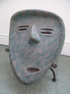 Large ceramic face mask