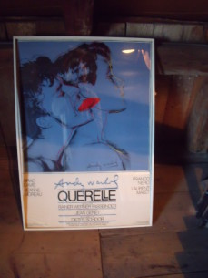 Andy Warhol film poster, Querelle