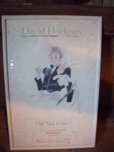David Hockney,The Tate Gallery Poster