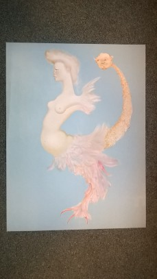 Leonor Fini signed Lithograph