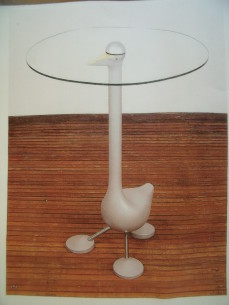 "Alessandro Mendini ""Goose"" table"