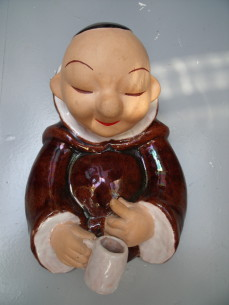 Bosse, ceramic figure of a monk