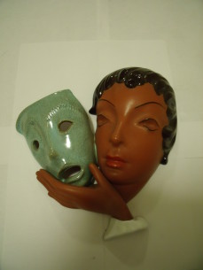 Goldscheider ceramic mask