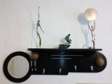Art Deco coat rack
