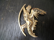 "Salvador Dali ""Angel"" brooch"