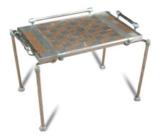 Art Deco, chess board coffee table