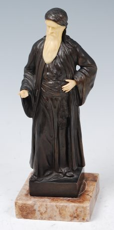 Richard W. Lange bronze figure